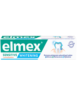 ELMEX® PASTA DO ZĘBÓW SENSITIVE WHITENING 75 ML