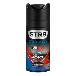 STR8 ANTYPERSPIRANT DO CIAŁA SPRAY 150ML REACT BODY