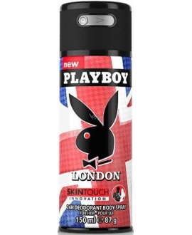 PLAYBOY WLONDON DEO SPR 150ML RG