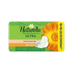 NATURELLA PODPASKI ULTRA CALENDULA NORMAL 20SZT