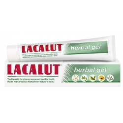 LACALUT PASTA W ŻELU DO ZĘBÓW HERBAL 75ML