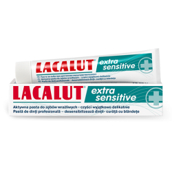 LACALUT PASTA DO ZĘBÓW EXTRA SENSITIVE 75ML