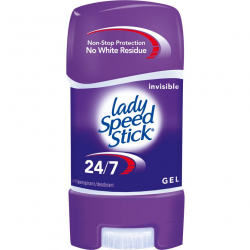 LADY SPEED STICK ŻEL STICK INVISIBLE 65G