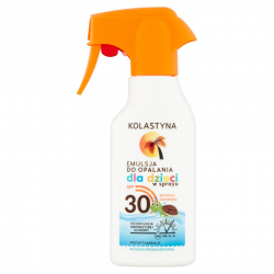 KOLASTYNA SUN EMULSJA DO OPALANIA SPF30 200ML